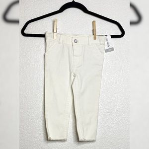 Carters white jeans